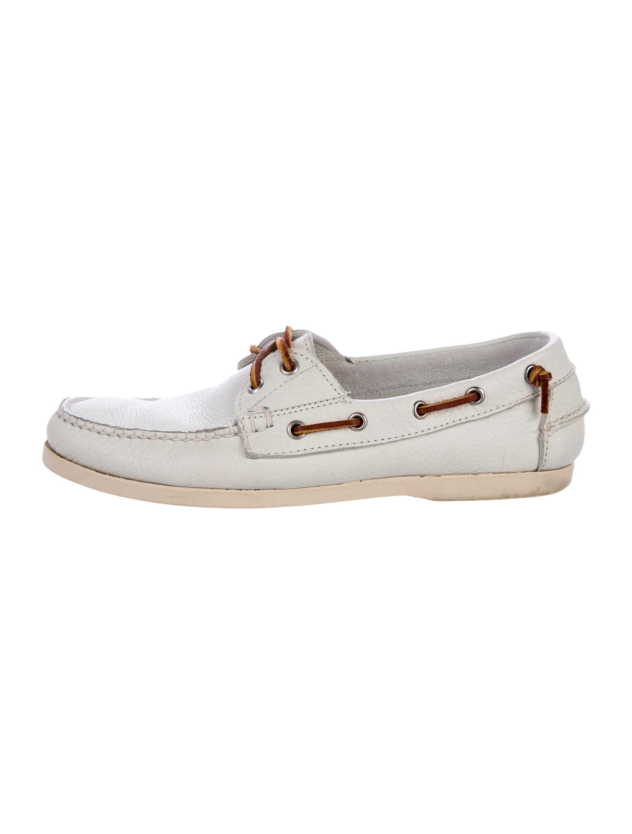 ralph leather boat shoes shoes wyg23890 the