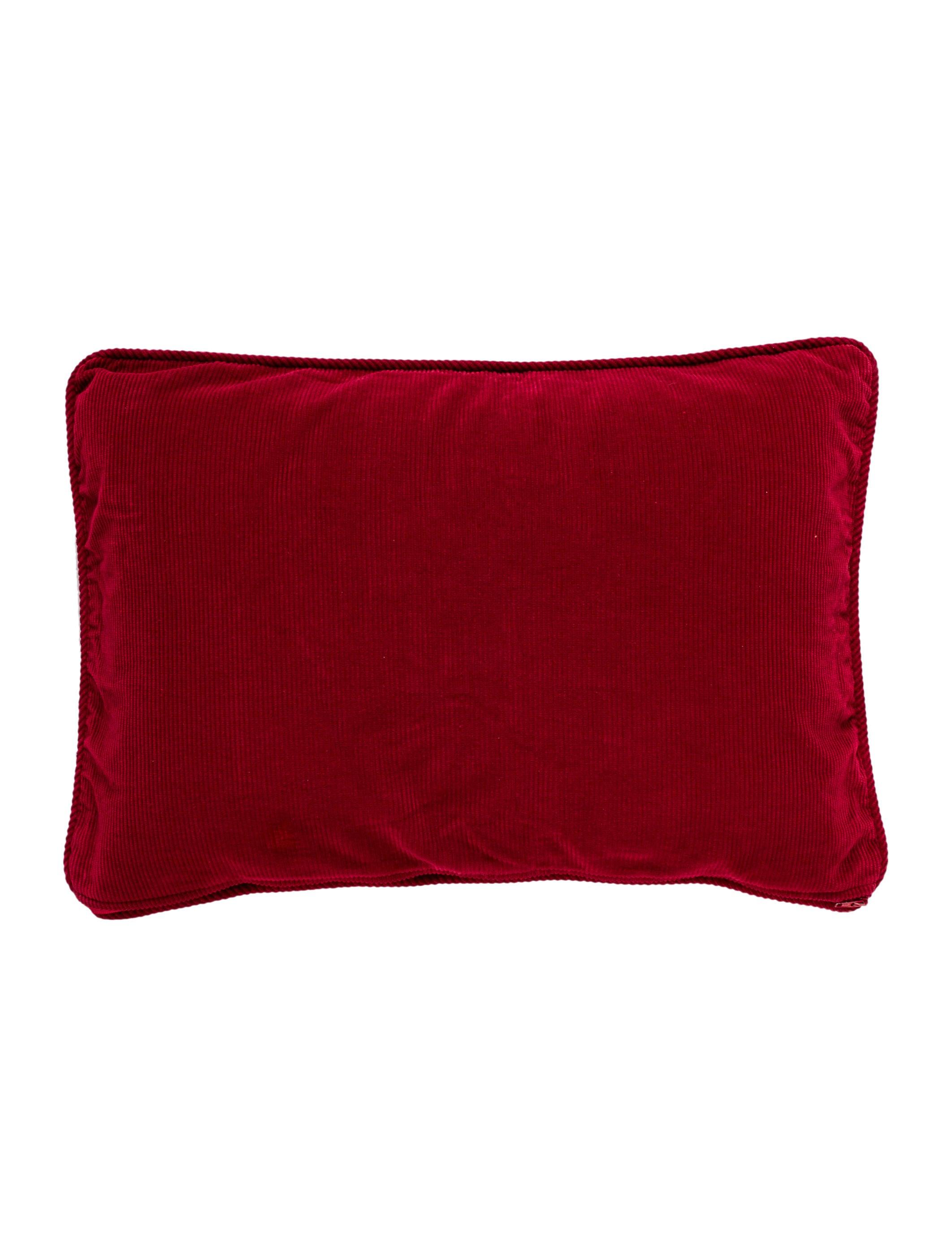 Ralph Lauren Red Throw Pillow - Pillows And Throws - WYG17 ...