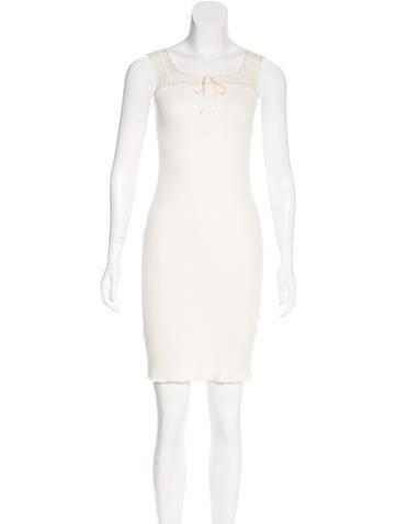 Ralph Lauren Sleeveless Rib Knit Dress None