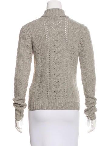 Ralph Lauren Cashmere & Wool Knit Sweater - Clothing - WYG24118 ...