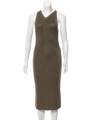 Ralph Lauren Silk Midi Dress None