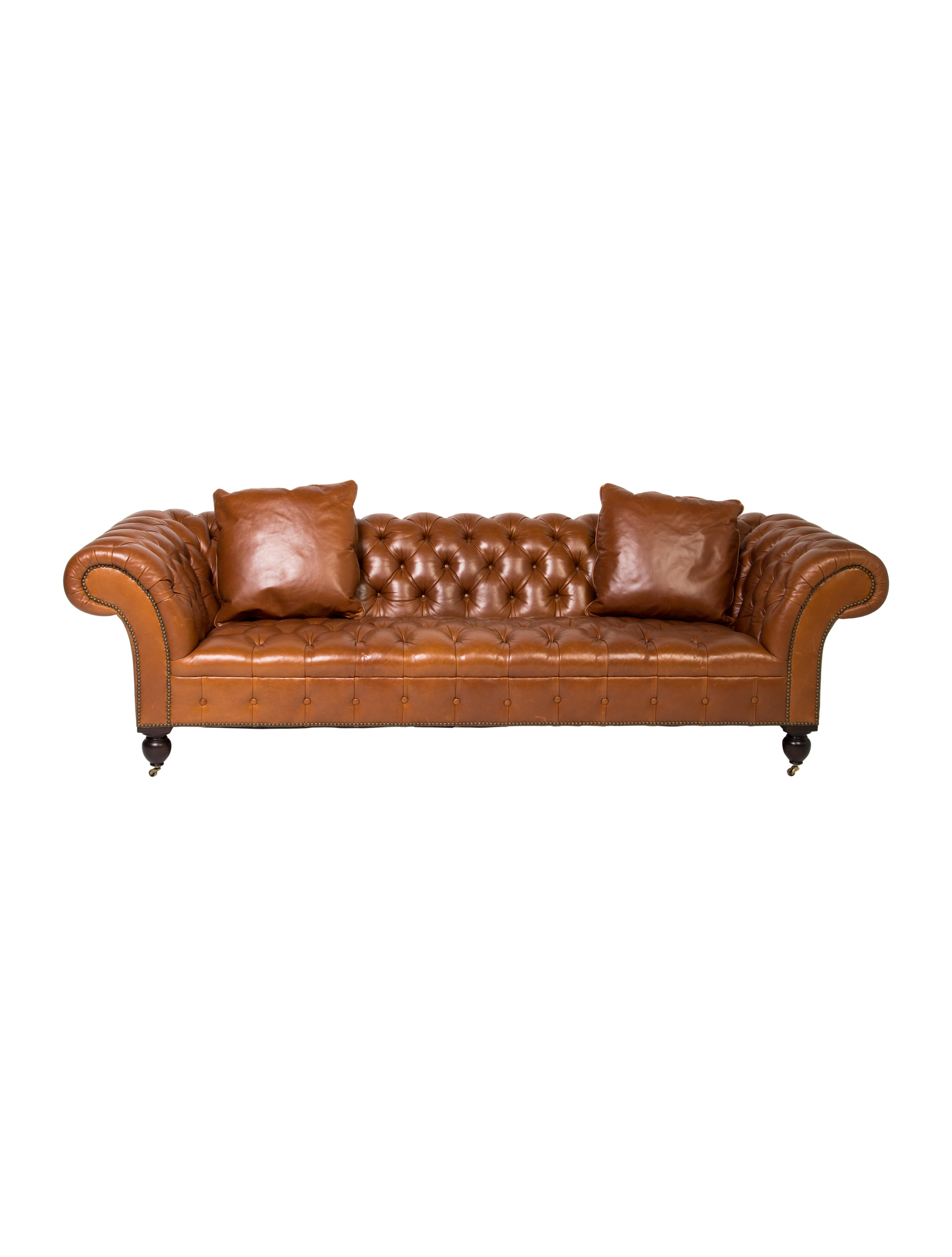 Leather Brittany Sofa