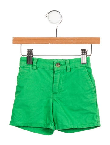Ralph Lauren Boys' Embroidered Logo Shorts None