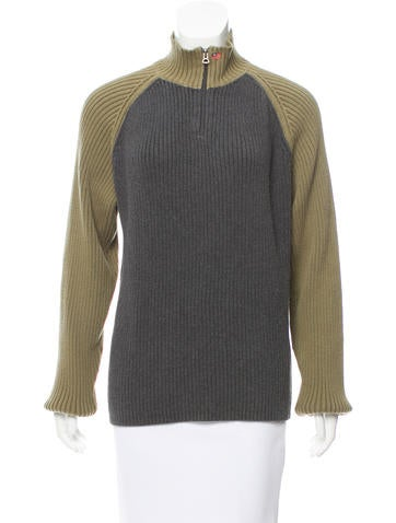Ralph Lauren Colorblock Rib Knit Sweater None