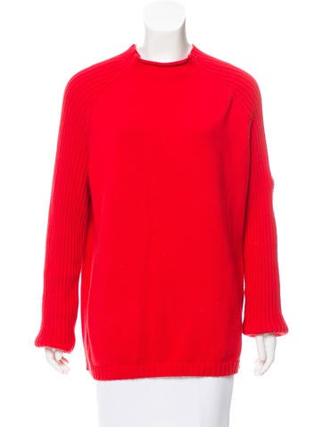 Ralph Lauren Rib Knit Cotton Sweater None
