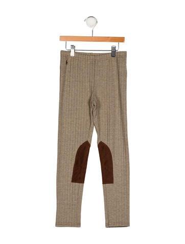 Ralph Lauren Girls' Herringbone Leggings w/ Tags None