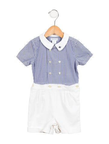 Ralph Lauren Boys' Printed All-In-One None