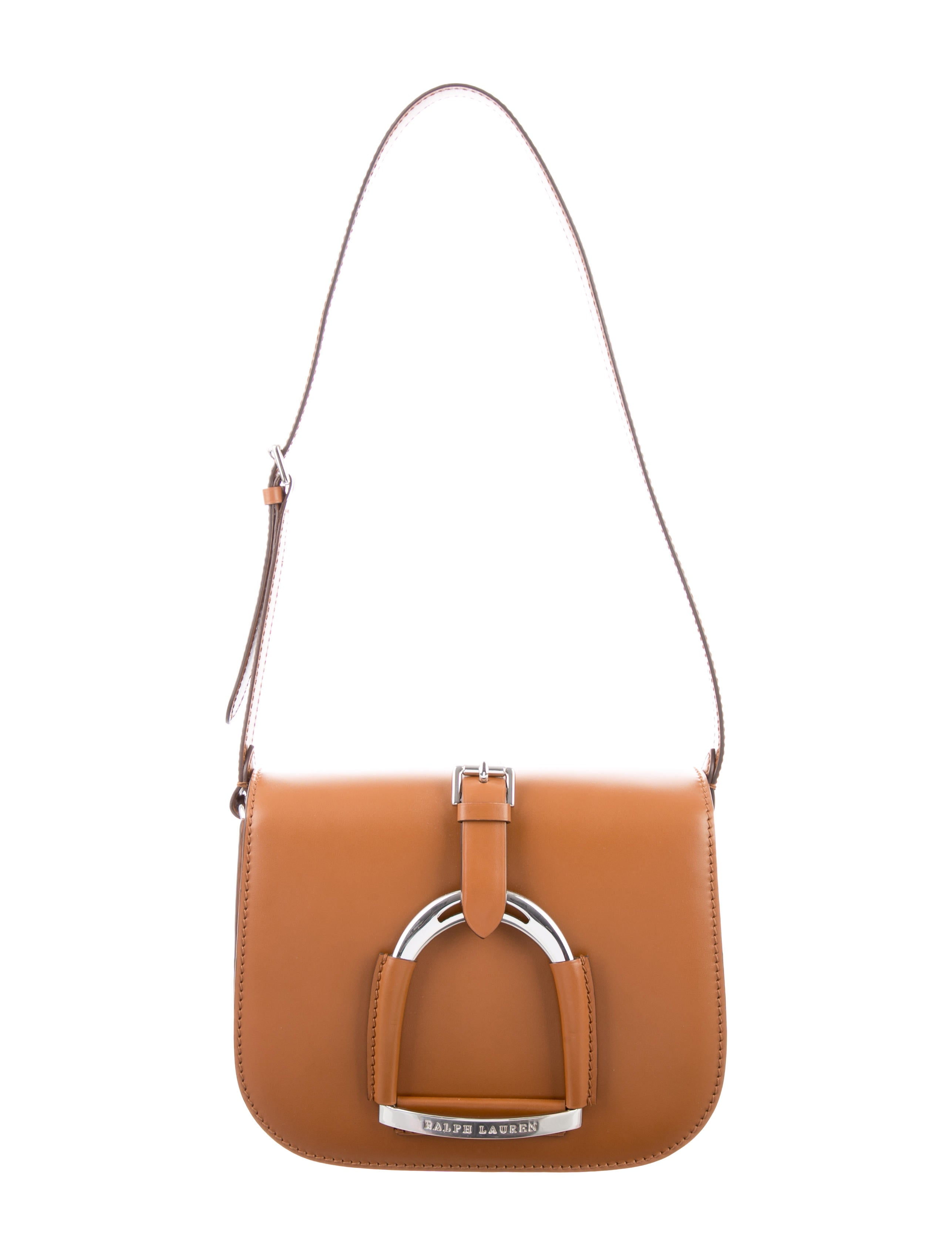 54d798d7c6 ... inexpensive ralph lauren horsebit embellished saddle bag w tags handbags  wyg26069 the realreal bfba8 773f2