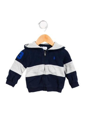 Boys' Hooded Zip-Up Sweatshirt