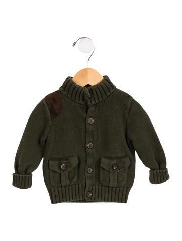 Ralph Lauren Boys' Knit Button-Up Cardigan None