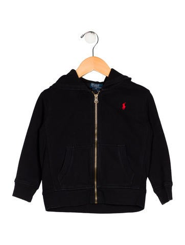 Ralph Lauren Boys' Hooded Zip-Up Jacket None