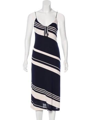 Ralph Lauren Silk Midi Dress None