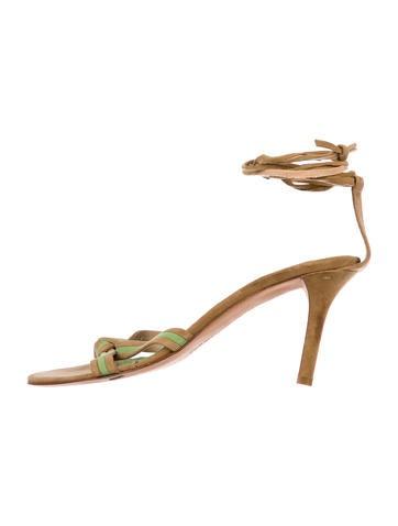 Alexandra Neel Suede Multistrap Sandals sale online eKdPmAmxbP
