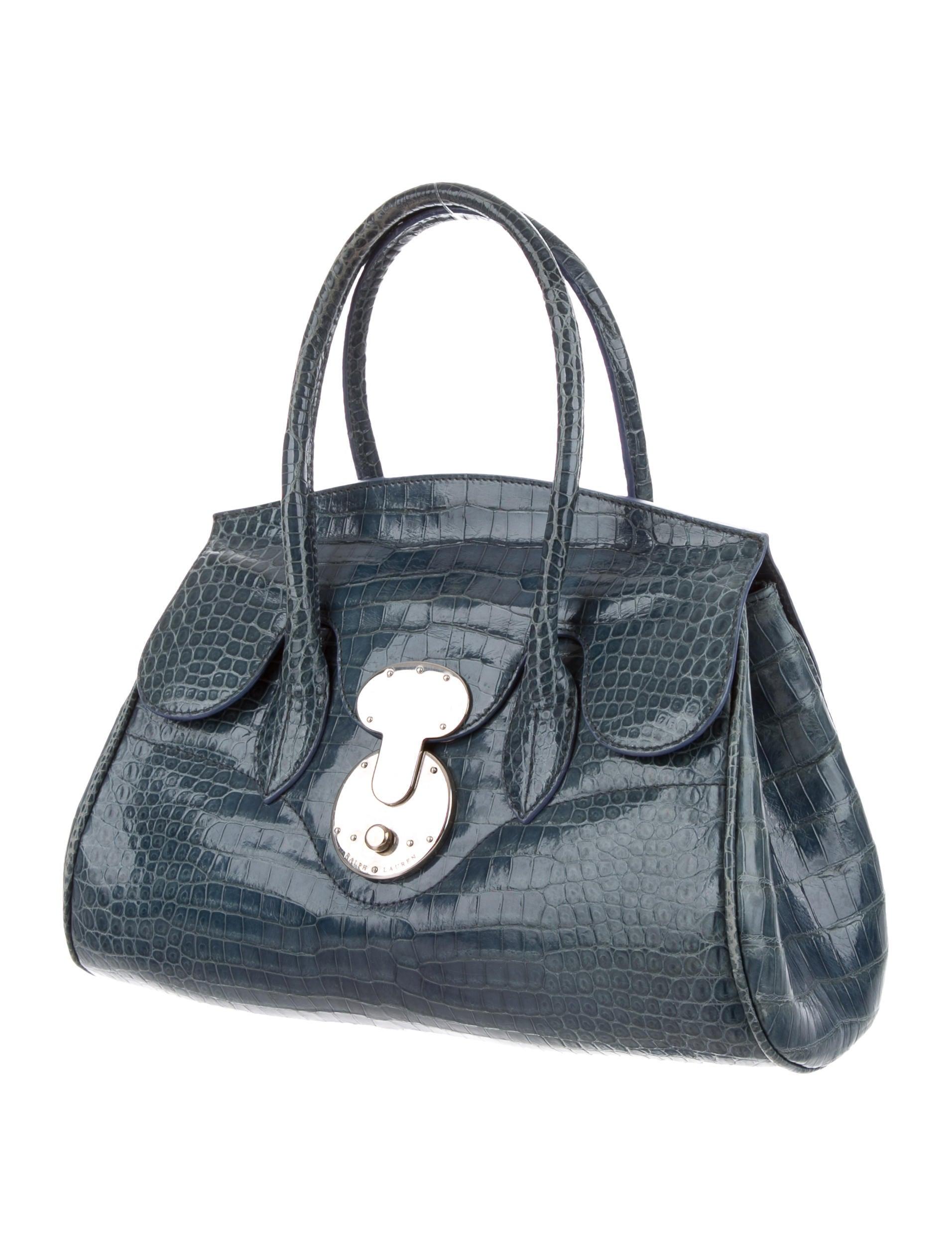 de68de903775 ... where can i buy ralph lauren alligator ricky bag handbags wyg28304 the  realreal 0ba41 6d5d0 ...