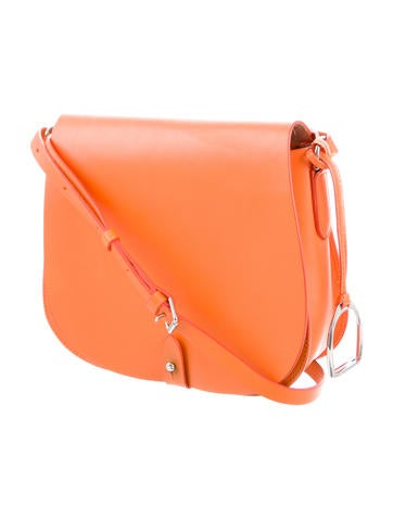Ralph Lauren Equestrian Vachetta Saddle Bag - Handbags - WYG28846   The  RealReal f3bacfc0b0