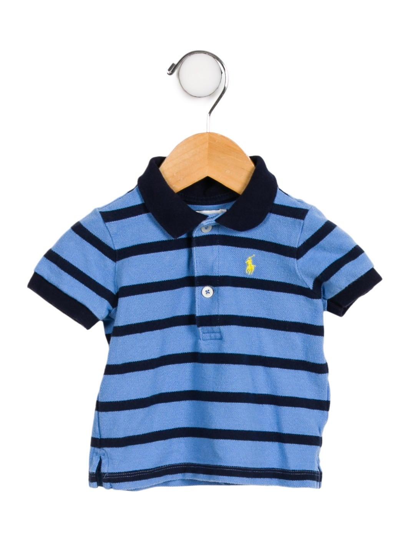 Ralph Lauren Boys Striped Polo Shirt Boys Wyg29235 The Realreal