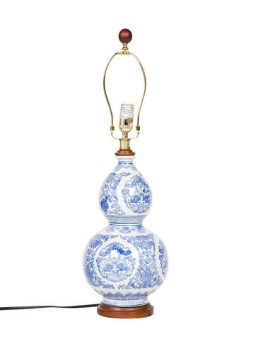 Chinoiserie Ceramic Table Lamp