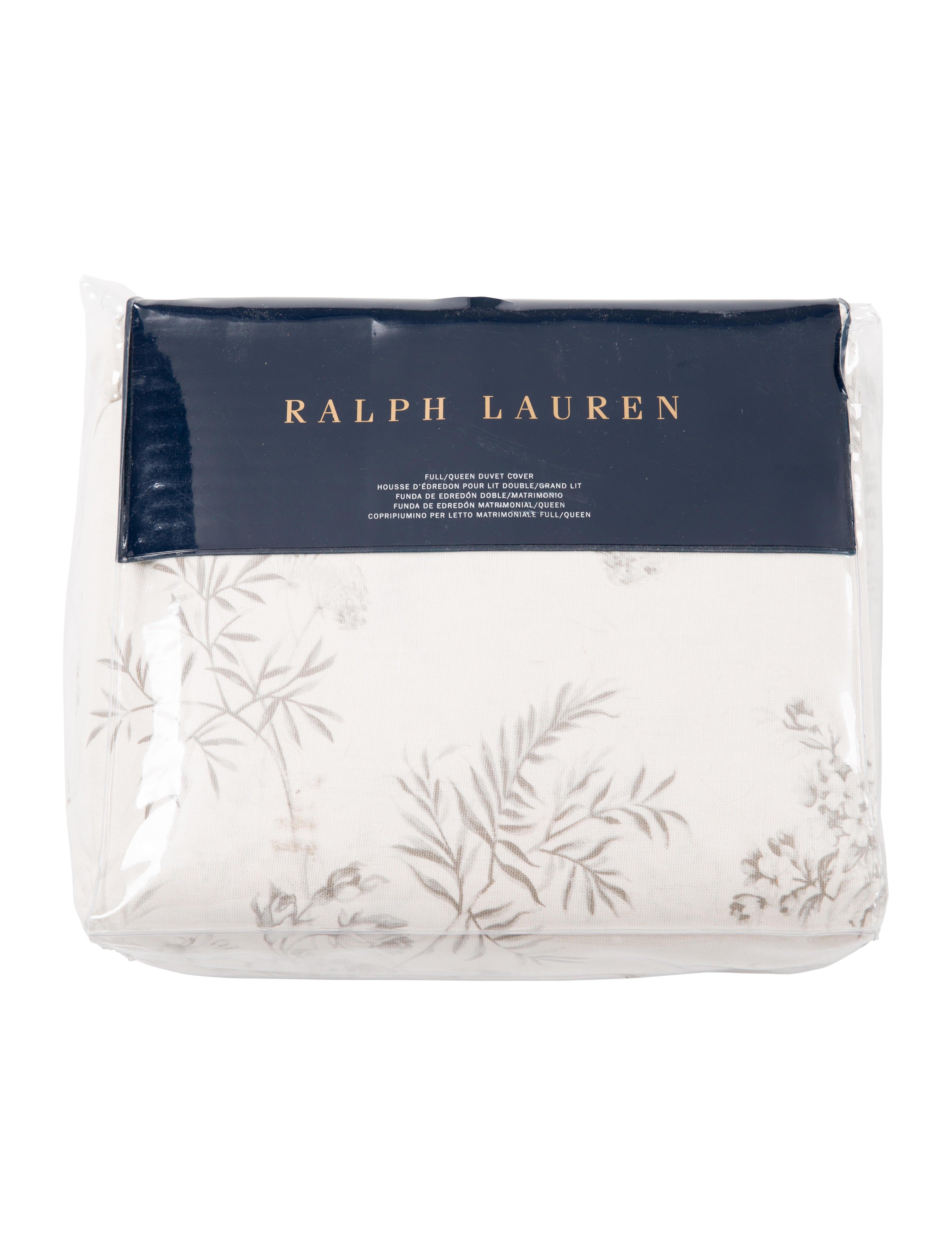 Copripiumino Chanel.Ralph Lauren Ainslie Cotton Duvet Cover Bedding Bath