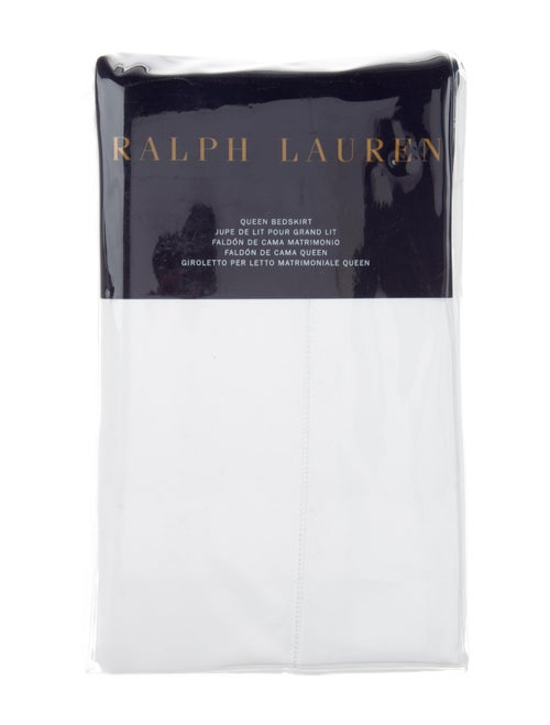 Giroletto Matrimoniale.Ralph Lauren Solid Sateen Queen Size Bedskirt W Tags Bedding
