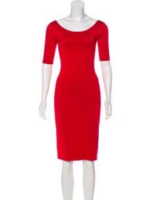 72a329379709e Ralph Lauren. Silk Knee-Length Dress