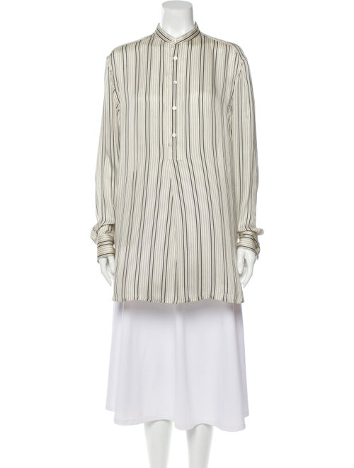 Ralph Lauren Silk Striped Tunic