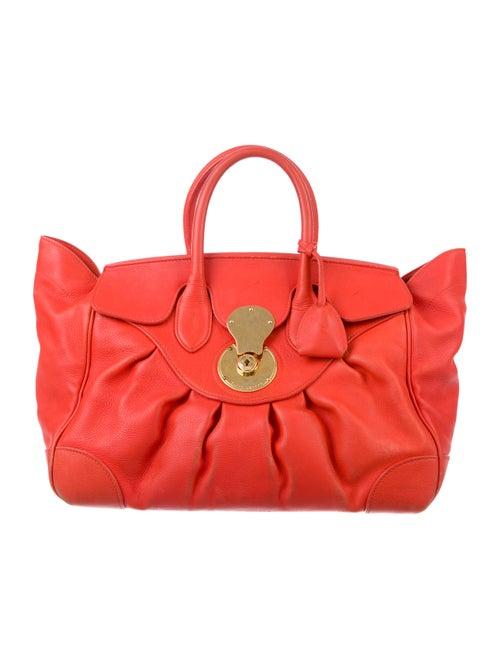 Ralph Lauren Puffy Ricky Bag gold - image 1