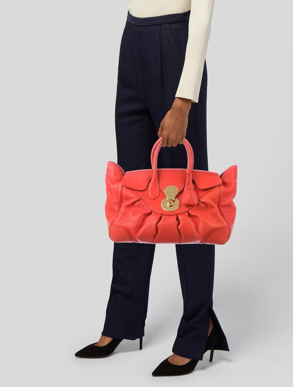 Ralph Lauren Puffy Ricky Bag gold - image 2