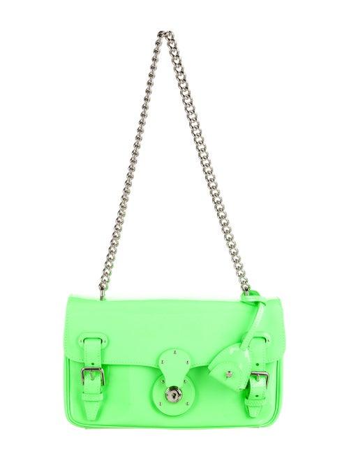 Ralph Lauren Ricky Chain Shoulder Bag Neon