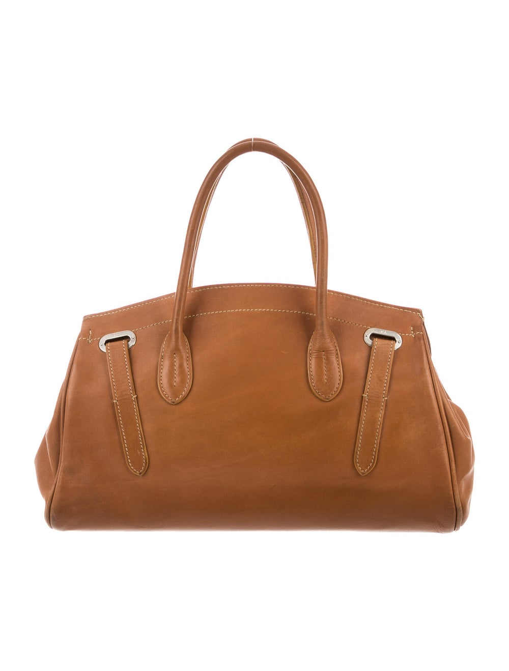 Ralph Lauren Ricky Top Handle Bag Brown - image 4