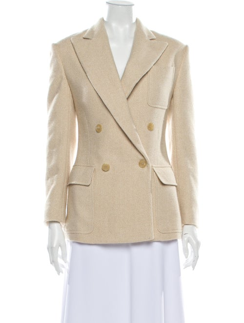 Ralph Lauren Tweed Pattern Blazer