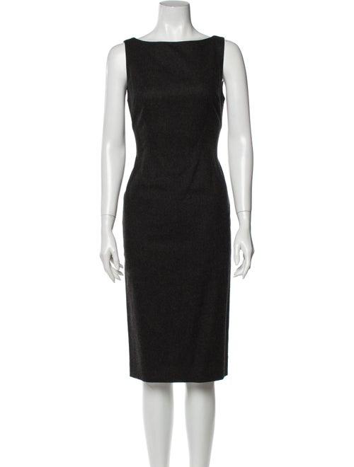 Ralph Lauren Wool Knee-Length Dress Wool