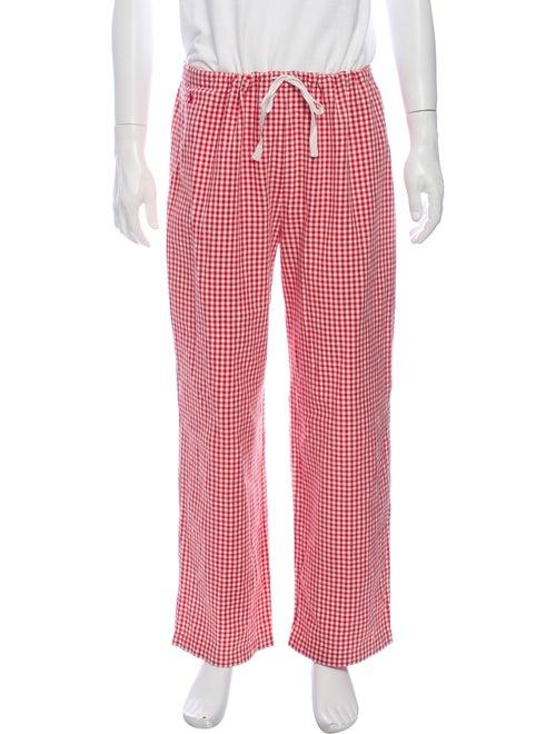 Ralph Lauren Printed Pajama Bottoms Red