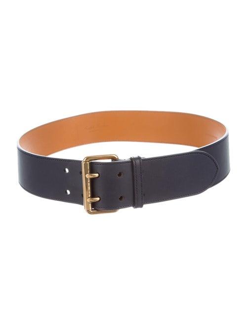 Ralph Lauren Leather Hip Belt Navy