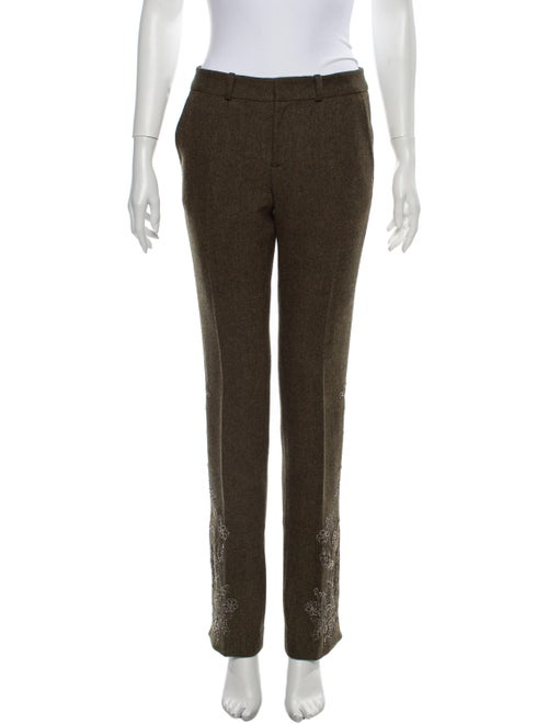 Ralph Lauren Wool Wide Leg Pants Wool