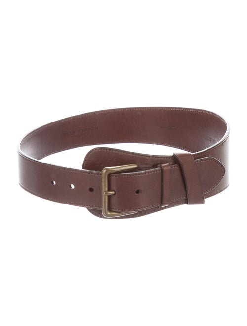 Ralph Lauren Leather Hip Belt Brown