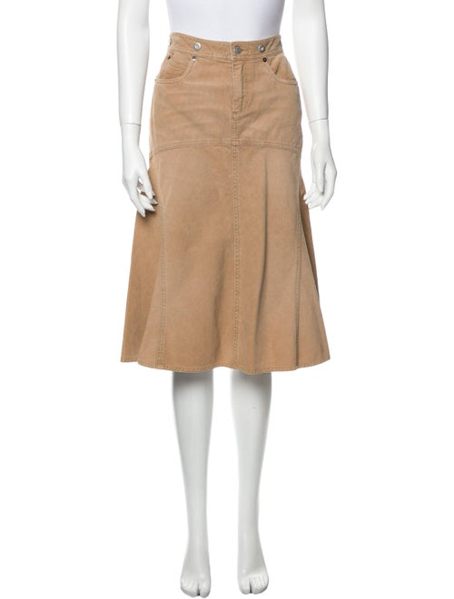 Ralph Lauren Knee-Length Skirt Brown