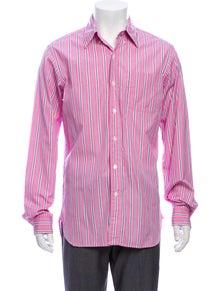 Ralph Lauren Striped Long Sleeve Dress Shirt
