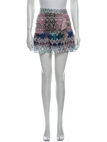 Ramy Brook Silk Mini Skirt