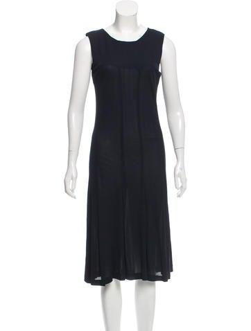 Calvin Klein Sleeveless Midi Dress None