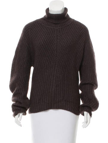 Calvin Klein Collection Knit Turtleneck Sweater None