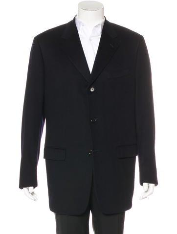 Calvin Klein Cashmere Car Coat None