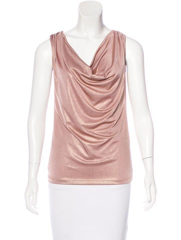 Calvin Klein Knit Sleeveless Top None