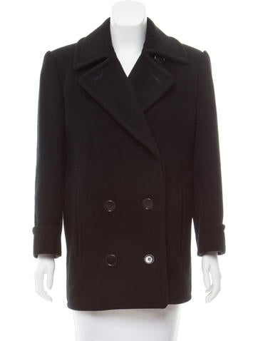 Calvin Klein Structured Double Breasted Coat None