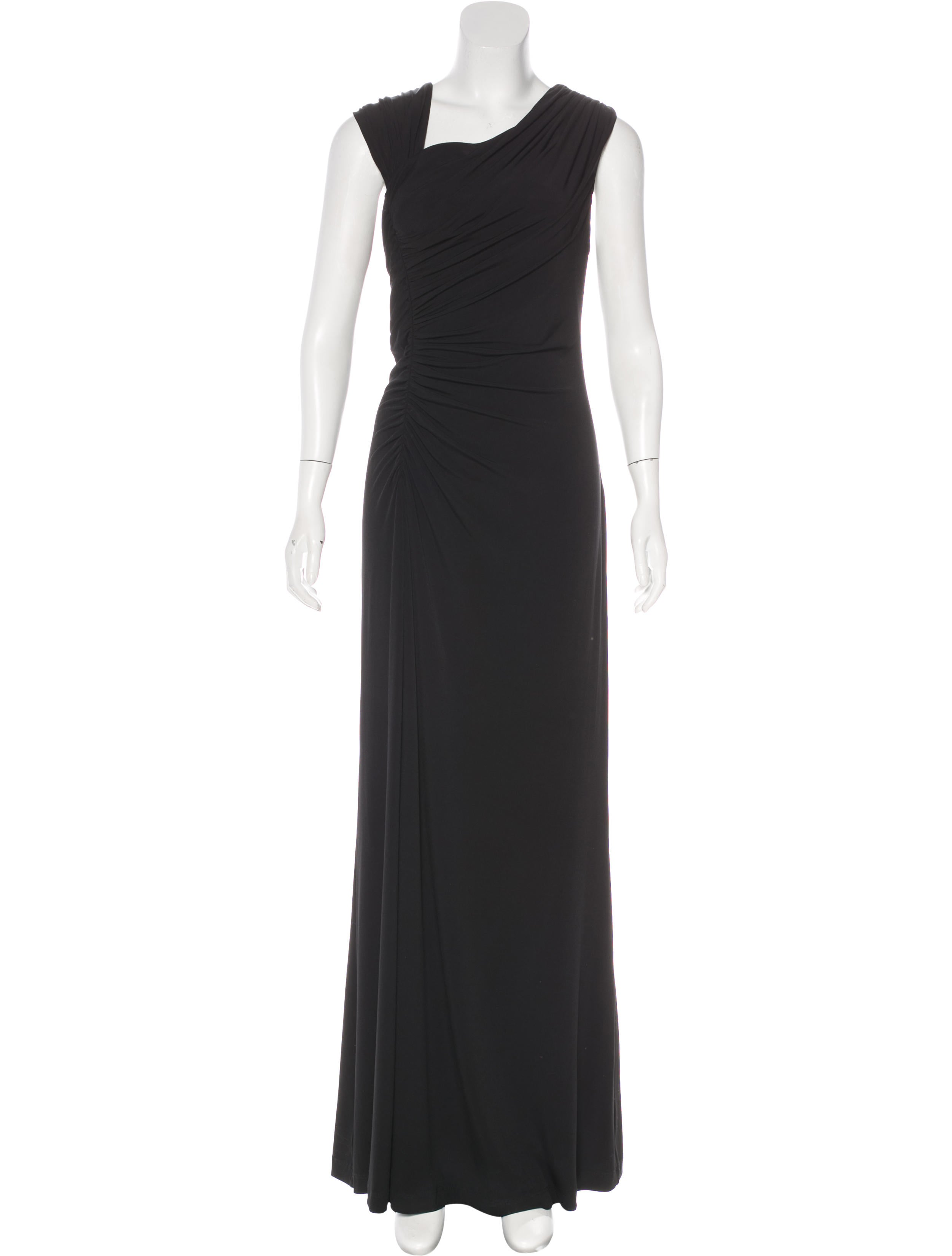 Calvin Klein Gathered Evening Dress - Clothing - WYL20664 | The RealReal