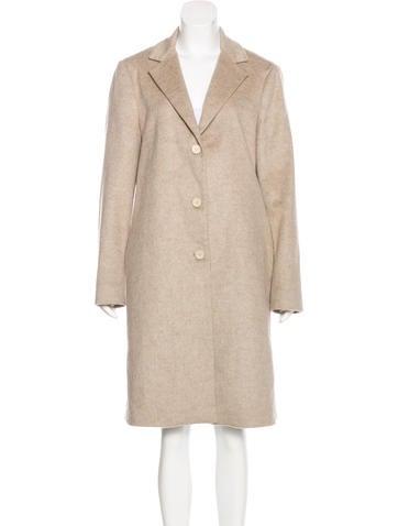 Calvin Klein Wool Long Coat None