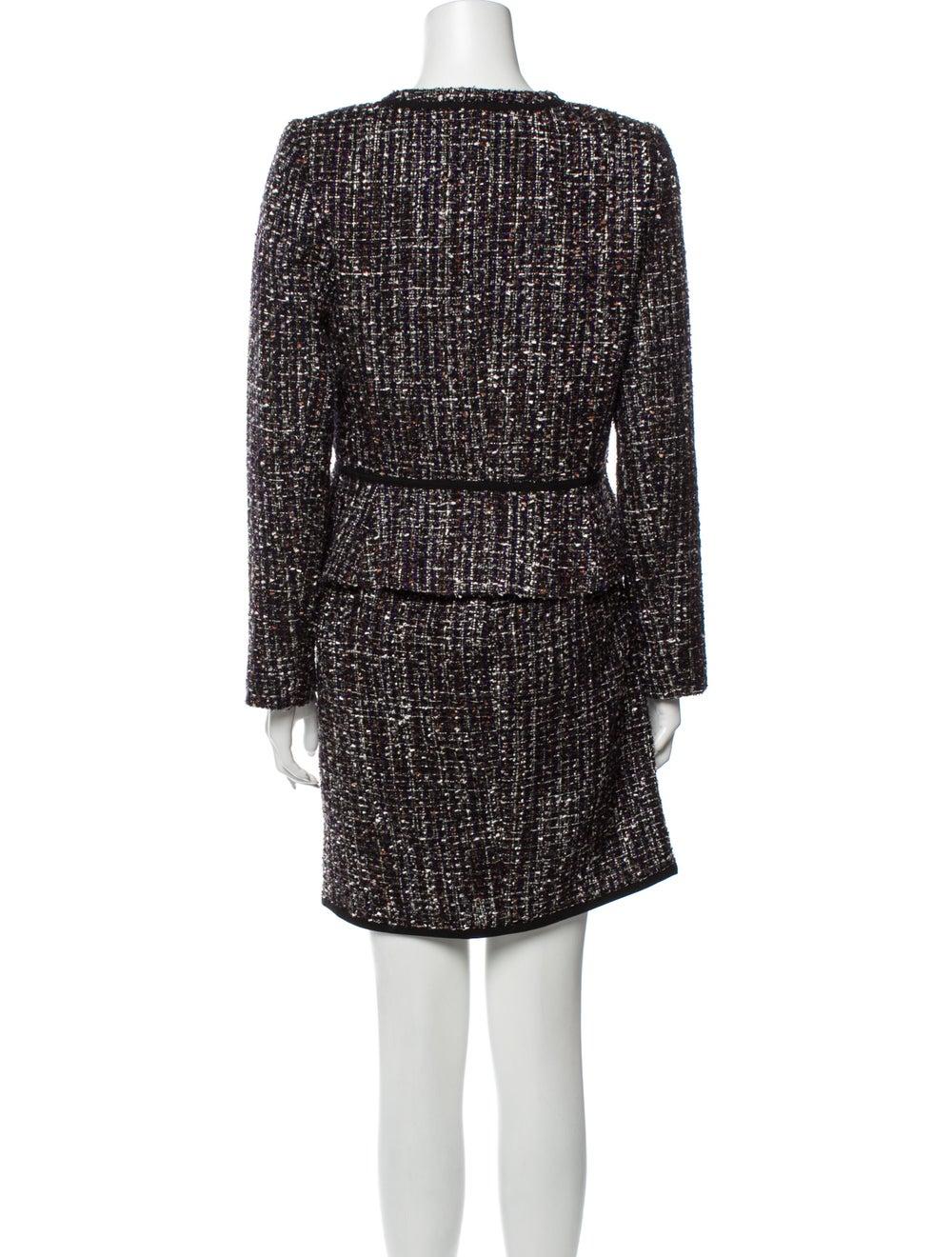 Calvin Klein Tweed Pattern Skirt Set w/ Tags Black - image 3