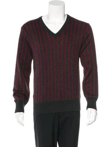Y's Yohji Yamamoto Striped Wool Sweater None