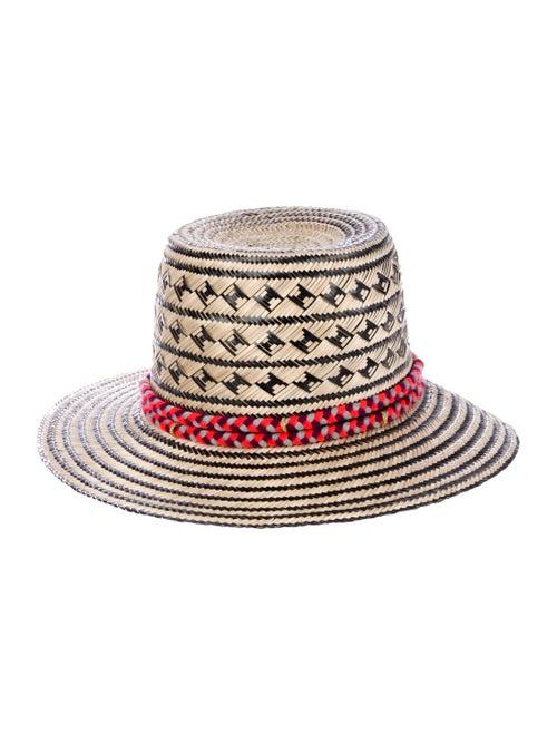 Yosuzi Straw Wide Brim Hat Tan