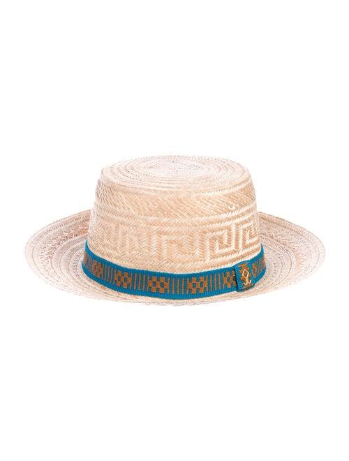 Yosuzi Raffia Sun Hat Tan