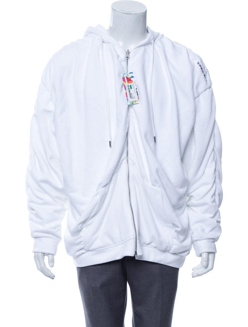 Y/Project 2019 Reversible Hoodie white